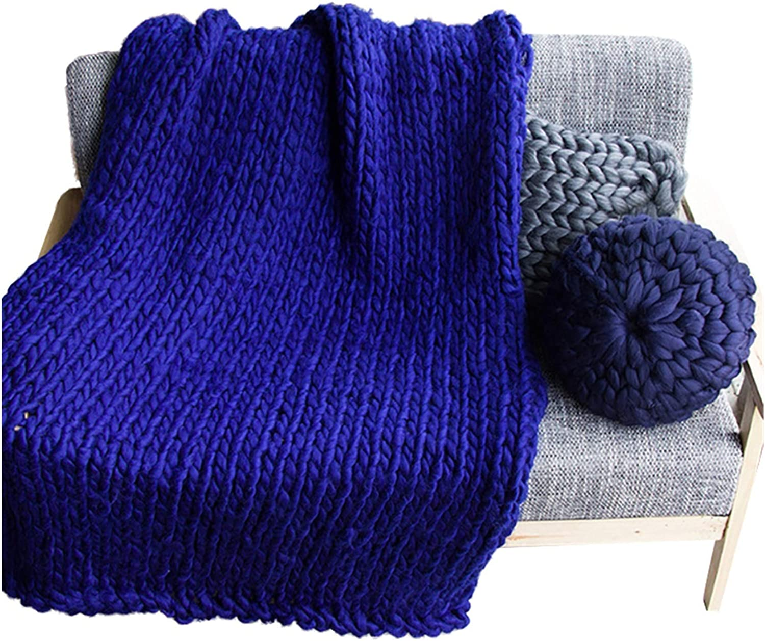 JDJD Hand Ranking TOP2 Factory outlet Knitted Chunky Blanket Yarn Wool Bulky Weighted Thick