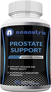 Prostate Health Supplements for Men with Saw Palmetto Extract & Plant Sterol Complex for Bladder Control Support & Urinary...