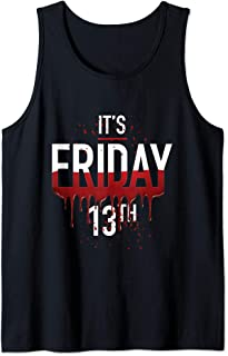 It's Friday 13th Horror Gifts Funny Halloween Costume Idea  Tank Top