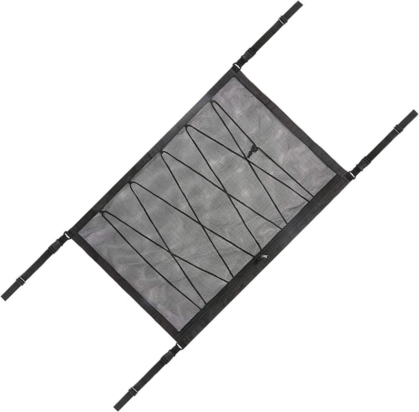 MADAGI Car Our shop OFFers the Weekly update best service Organizers Roof Storage Mesh Adjustable Bag Stret