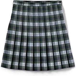 Sponsored Ad - Lands' End School Uniform Girls Plaid Pleated Skirt Below The Knee