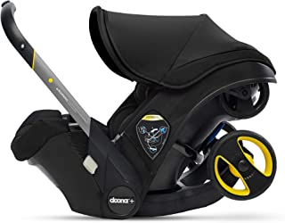 Doona Infant Car Seat & Latch Base - Car Seat to Stroller in Seconds - Nitro Black, US Version