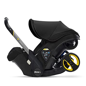 Doona Infant Car Seat & Latch Base - Car Seat to Stroller in Seconds - Nitro Black, US Version: image