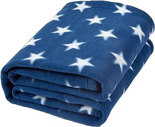 Dreamscene Manta de Franela con Estrellas para sofá de niñ