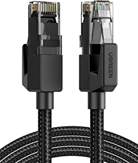 UGREEN Ethernet Cable Braided Cat6 Gigabit Ethernet Cable Network LAN RJ45 Cable 1000Mbps High Speed Compatible for PS5, P...