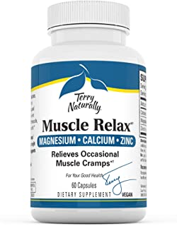 Sponsored Ad - Terry Naturally Muscle Relax - 60 Vegan Capsules - Occasional Muscle Cramp Relief Supplement, Supports Nerv...