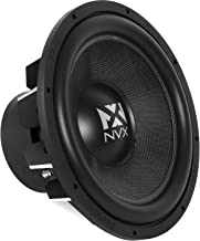 NVX 15-inch True 1000 watt RMS 2000 watt Peak Dual 4-Ohm Car Subwoofer 3-Dimensional Die Cast Aluminum Basket [VCW154]