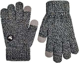Mix Knit Touchscreen Gloves,Kids Texting Winter Cold...