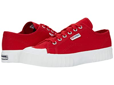 Superga 2630 Cotu (Flame Red) Women