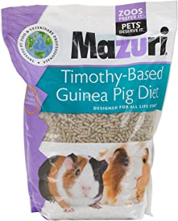 Mazuri Timothy-Based Guinea Pig Diet, 5 Pound Bag