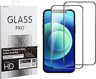 Wigood (2 Pack) Tempered Glass Screen Protector for iPhone 11& XR, Anti Bubble Ultra HD Full Screen Tempered Glass Film (...