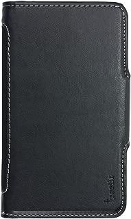 Samsung Galaxy Mega 5.8 Case - Poetic Samsung Galaxy Mega 5.8 Case [SlimBook Series] - [Slim-fit] PU Leather Protective Flip Cover Case for Samsung Galaxy Mega 5.8 Black (3 Year Manufacturer Warranty From Poetic)