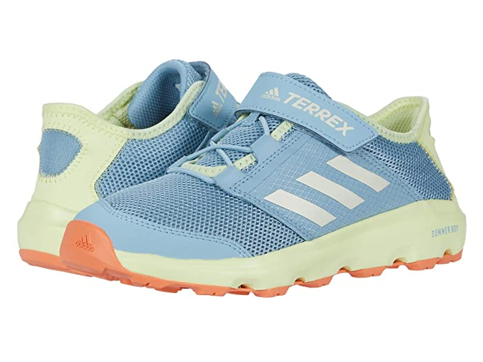 adidas Outdoor Kids  Terrex Voyager A.Rdy CF (Little Kid/Big Kid) (Ash Grey/Chalk White/Yellow Tint) Girls Shoes