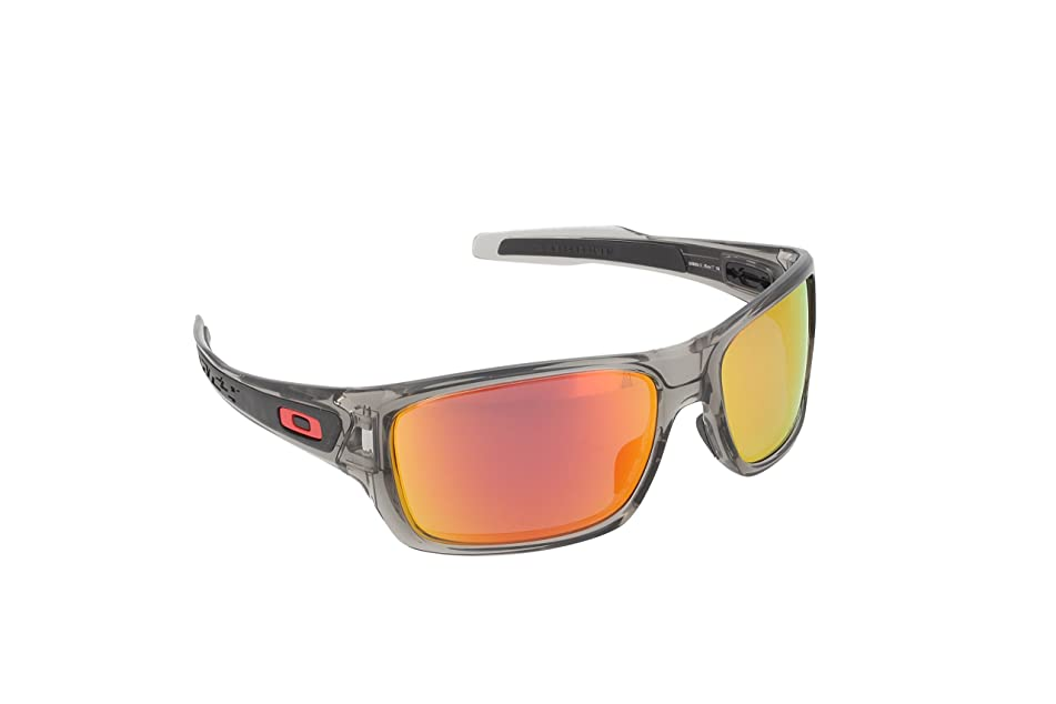 Oakley Men's Turbine OO9263 Polarized Iridium Rectangular Sunglasses