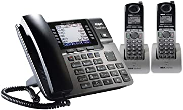 RCA Unison DECT 6.0 Phone System with One Base Station and Two Cordless Handsets