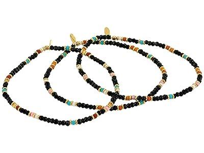 SHASHI The Gang Thunder Bracelet Set Noir (Black) Bracelet