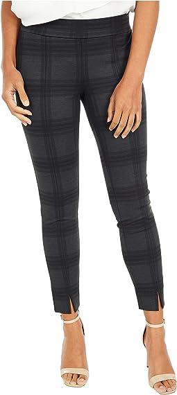 Petite Basic Leggings with Front Slit