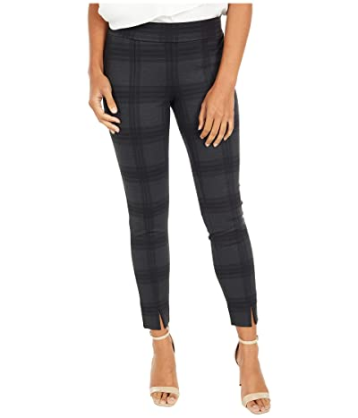 NYDJ Petite Petite Basic Leggings with Front Slit (Piedmont Plaid) Women