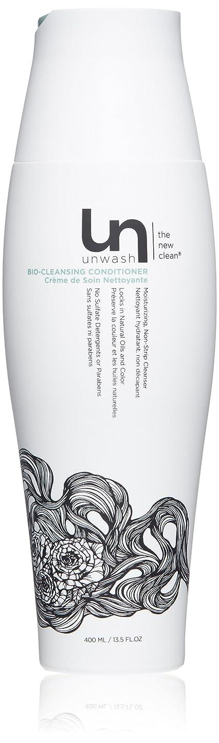 パンサー事務所石鹸unwash Unwashバイオクレンジングコンディショナー髪のクレンザー:共同ウォッシュクレンジング&コンディショニング、 13.5オンス
