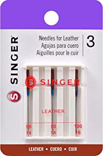 SINGER 2087 Leather Machine Needles, 3-Count