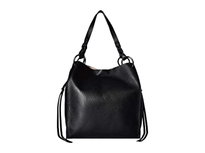 Rebecca Minkoff Kate Soft North/South Tote (Black) Handbags
