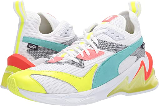 Puma White/Yellow Alert