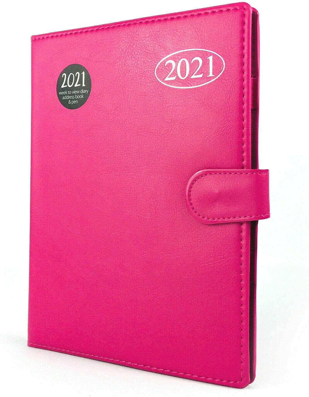 Teal 2021 A5 Week to View Organiser WTV Diary Address Book /& Pen Ladies Gents Gift