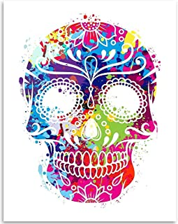hispanic skull art