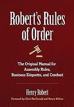 Best roberts rules of order ebook Reviews
