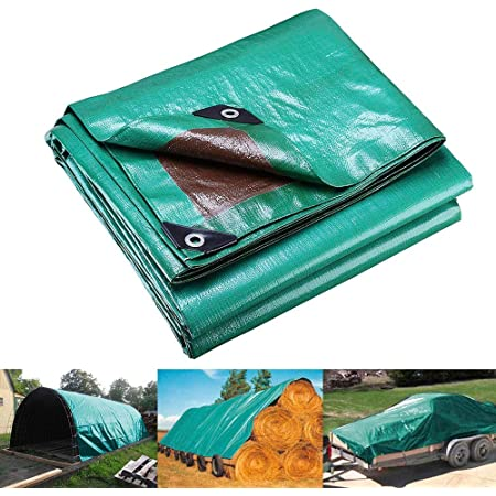 New Waterproof Tarpaulin Ground Sheet Multipurpose Camping Cover UV Resistant