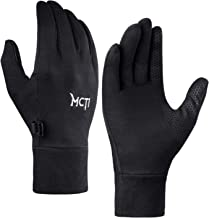 MCTi Glove Liner Touch Screen Lightweight for Winter Running Texting