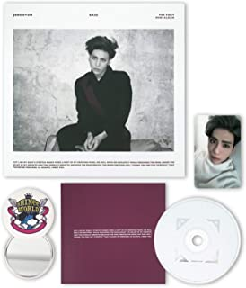 SHINEE JONGHYUN 1st Mini Album - BASE [ Wine Ver. ] CD + Photobook + Photocard + FREE GIFT / K-POP Sealed