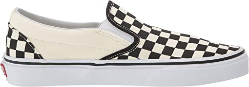 Black and White Checker/White (Canvas)