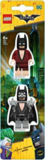 Lego 51758 – gumka do ścierania, motyw Batmana, ok. 7,5 cm, zestaw 2 szt.