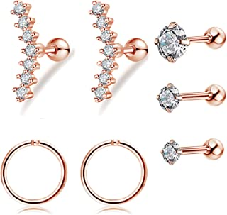 tragus earring sets