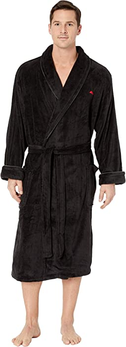 Wish Yule Were Here Plush Robe