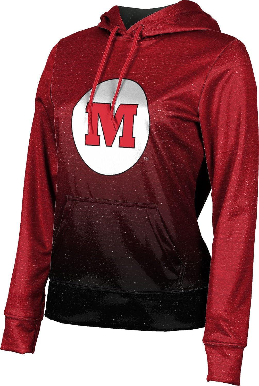 ProSphere Monmouth College Girls' Pullover Hoodie, School Spirit Sweatshirt (Ombre)