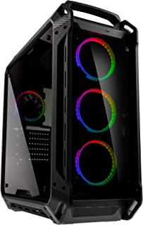 COUGAR Gaming Panzer EVO RGB Full-Tower Negro - Caja de Ordenador (Full-Tower, PC, Negro, ATX,CEB,EATX, Juego, Multi)