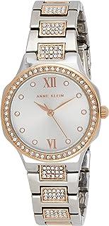 Anne Klein Womens Quartz Watch, Analog and Stainless Steel- AK3543SVRT