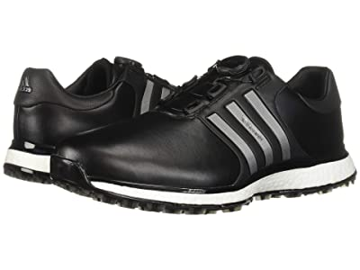 adidas Golf Tour360 XT Spikeless Boa (Core Black/Iron Metallic/Silver Metallic) Men