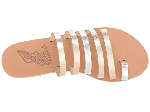MixWhite Platinum VachettaPink Niki Silver Metal Vachetta Metal Black Vachetta Greek Sandals Ancient K1vwq4Cx