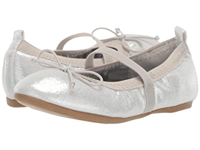 Nina Kids Esther-T (Toddler/Little Kid) (Silver Shimmer) Girls Shoes