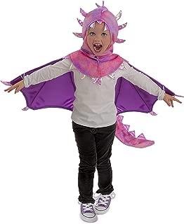 Princess Paradise Kids Hooded Sadie Dragon Costume, X-Small, Pink/Purple