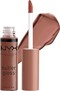 NYX PROFESSIONAL MAKEUP Butter Gloss, Ginger Snap, 0.27 Ounce