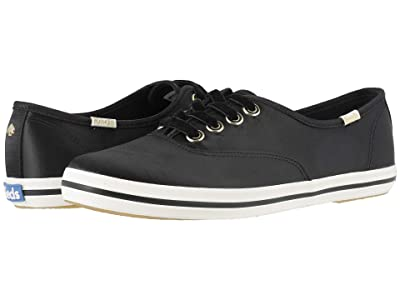 Keds x kate spade new york Champion Satin (Black) Women