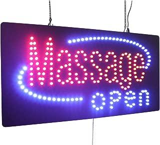 massage open sign