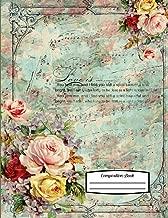 Composition Book: 8.5