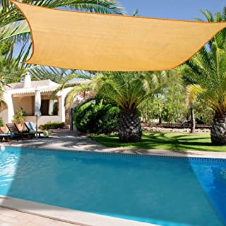 Amazon.es: toldo vela jardin rectangular 3x4 m