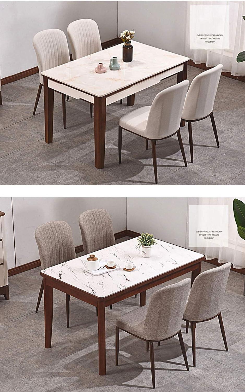 Calyvina Chaises Multifonctions à Manger avec siège en Cuir Souple et Dos en métal Jambes, chaises pour Salle à Manger Bureau de Salle de séjour,WHITE2 White1