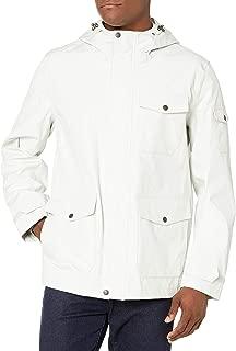 GH Men's Arctic Cloth Hooded Waterproof Mid Length Rain Jacket